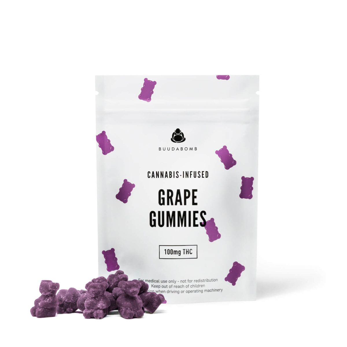 frosted grape gummy bears wccannabis
