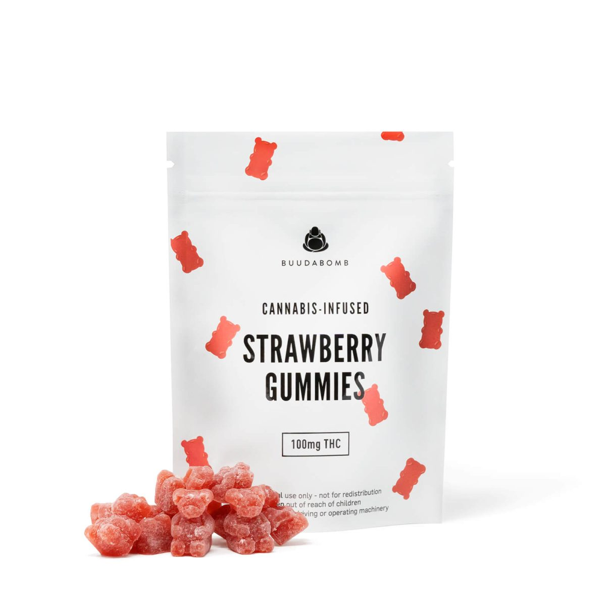 frosted red gummy bears wccannabis