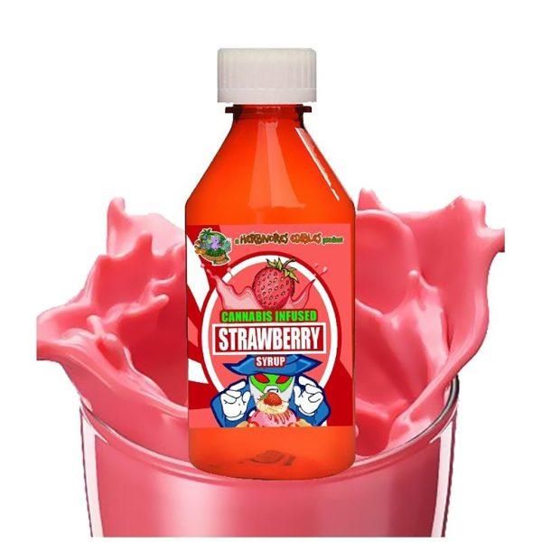 herbivore edibles strawberry syrup