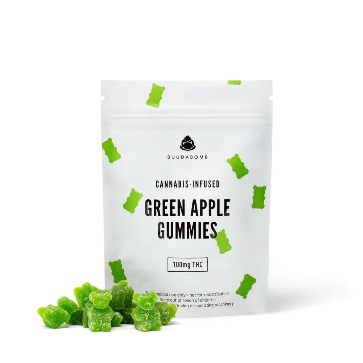 img frosted green gummy bears wccannbis