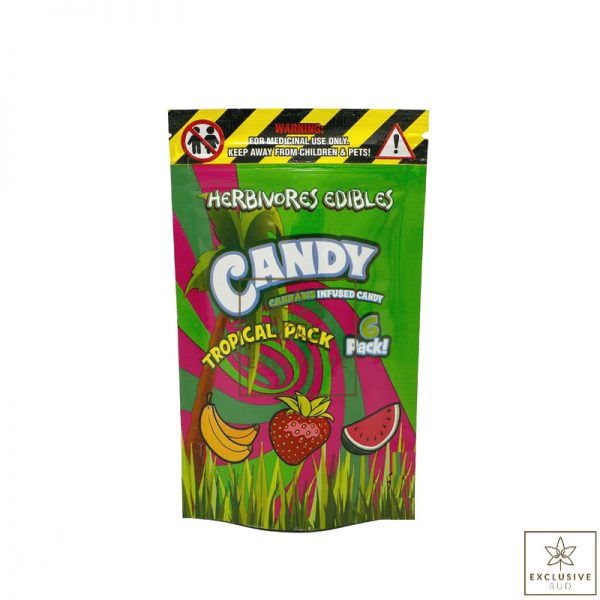 Herbivore Edibles Tropical Pack THC 600x600