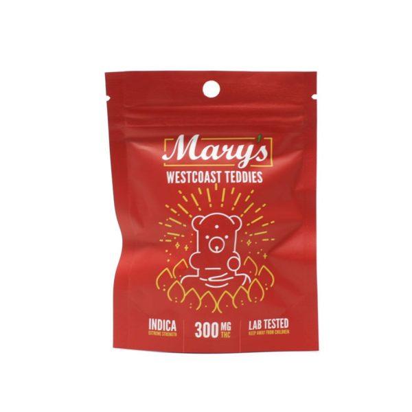 Marys Edibles West Coast Teddies 300MG Indica