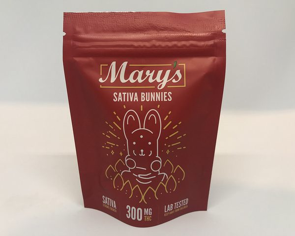 Marys Medibles Sativa Bunnies Sativa Extreme Strength 300MG