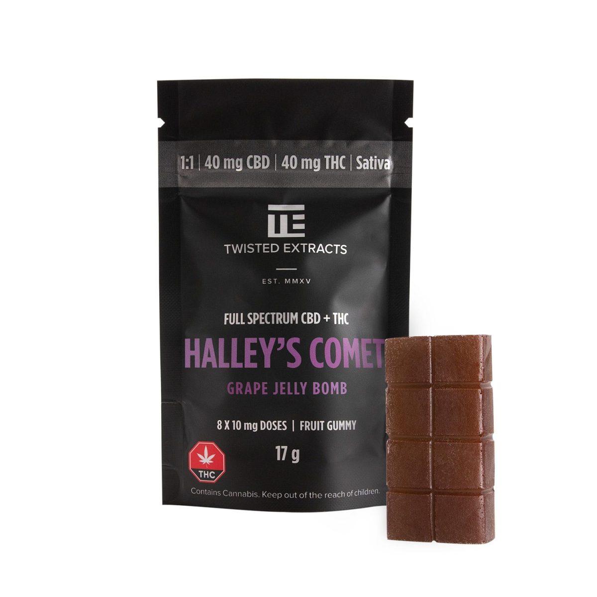 Twisted Halleys Grape MMJ