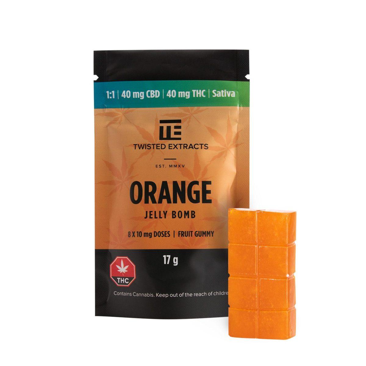 Twisted Orange 1 1 MMJ