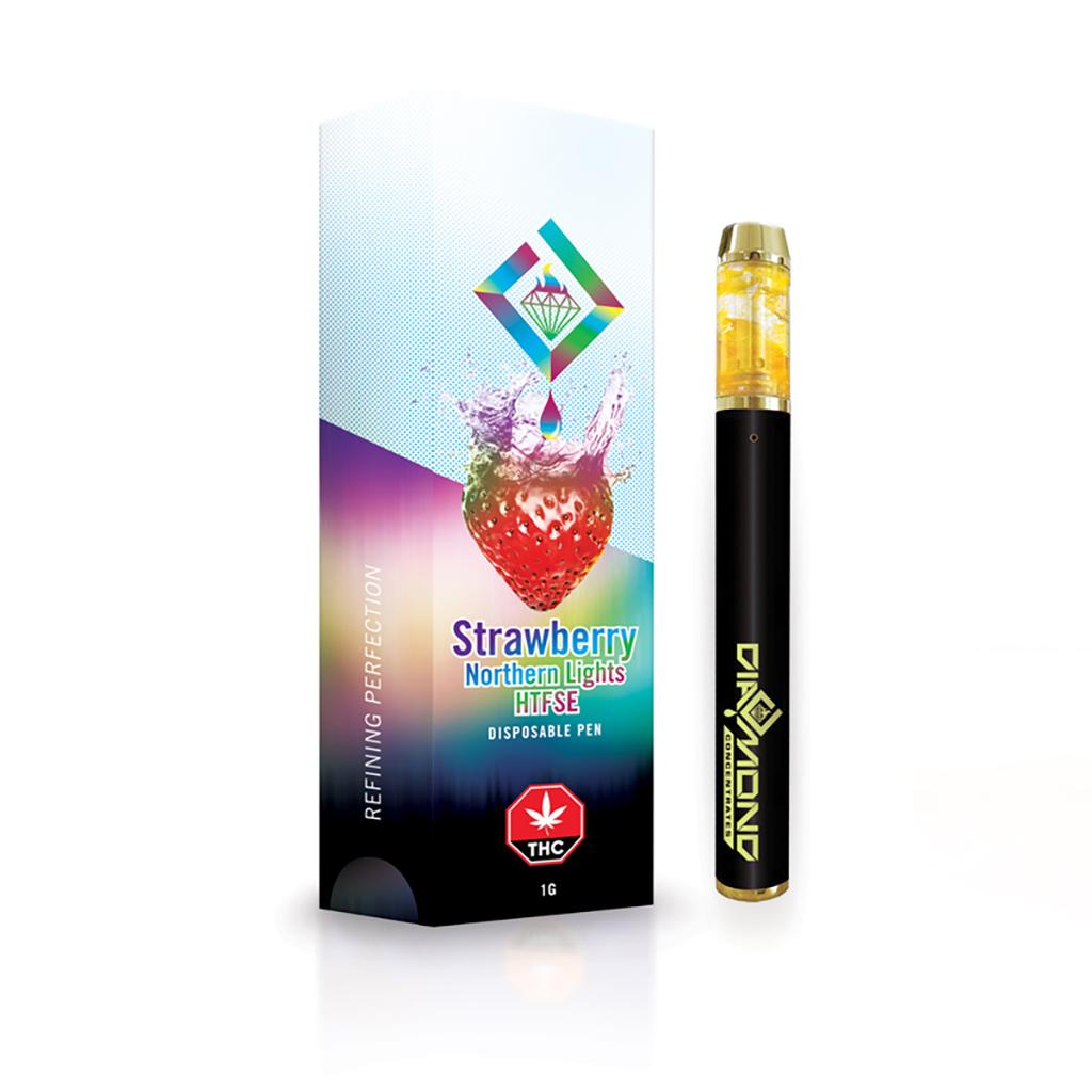 diamond strawberry htfse pen