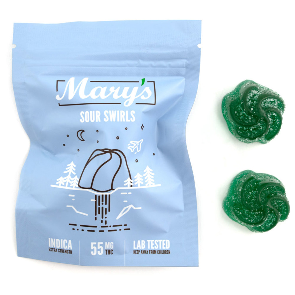 mary sour swirl indica wccannabis