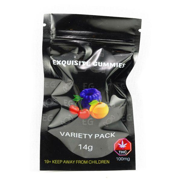 Exquisite Gummies Packaging MMJ