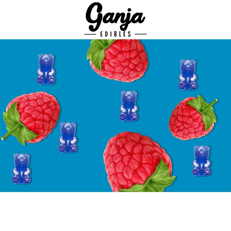 Ganja BlueRaspberryBears MMJ