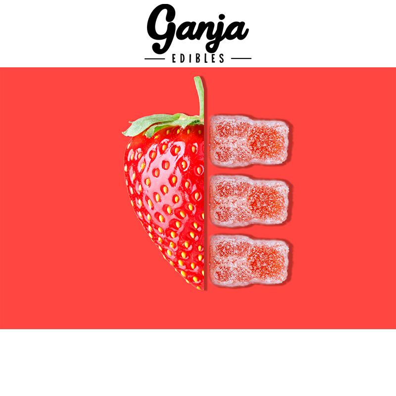 Ganja SourStrawberryBears MMJ