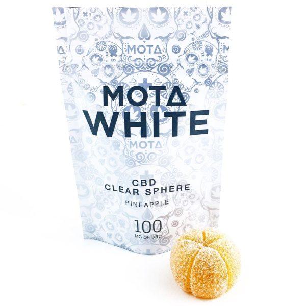 MotaWhite ClearSphere Pineapple MMJ