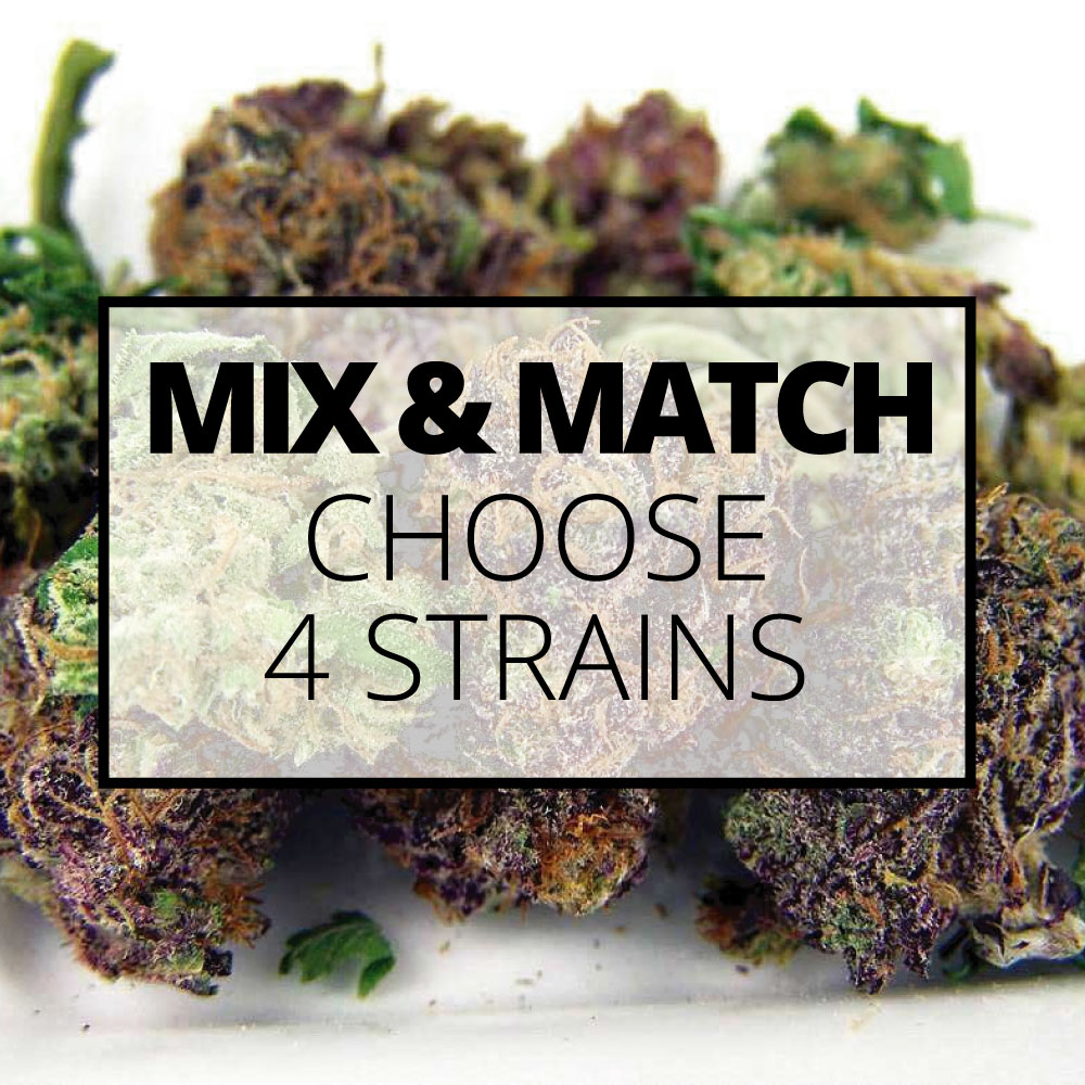 flower mix and match 4 strains