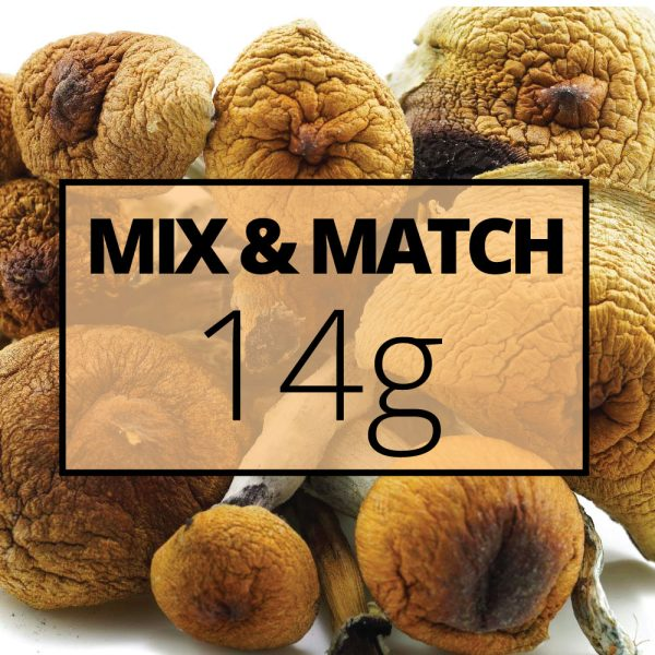 mmj shrooms mix and match 14g