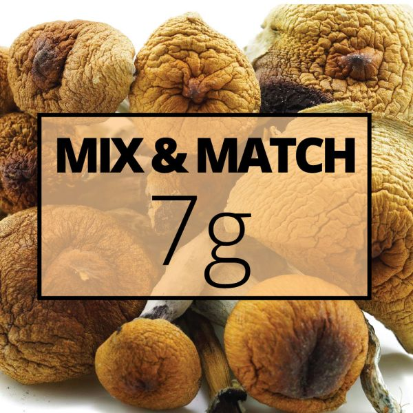 mmj shrooms mix and match 7g