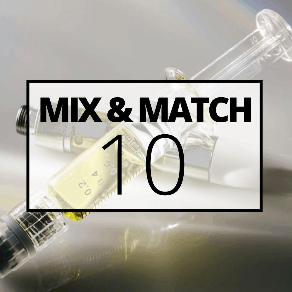 Distillate mix and match 10