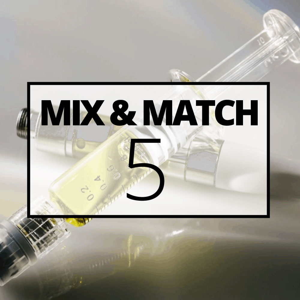 Distillate mix and match 5