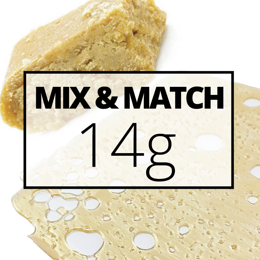 mmj concentrate mix and match 14g