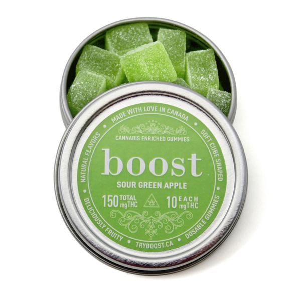 boost sour green apple 150mg