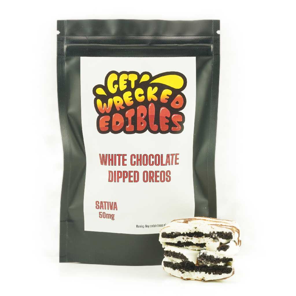 getwrecked50mg whitechocolateoreo MMJ