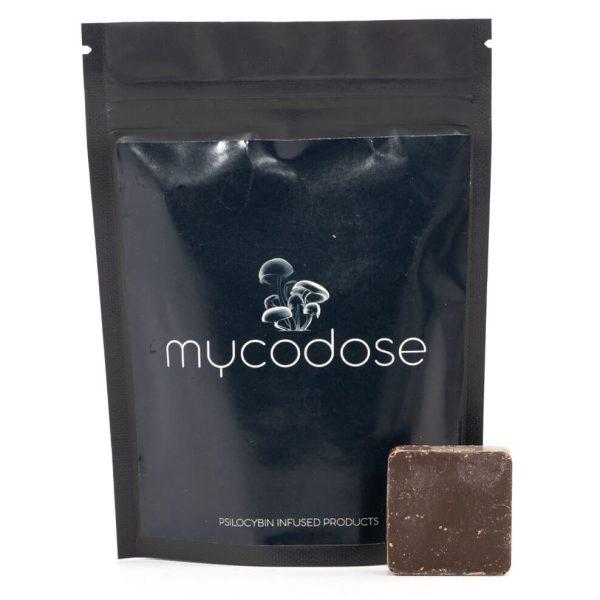 Mycodose Psilocybin Mushroom Chocolate Squares Dark Chocolate