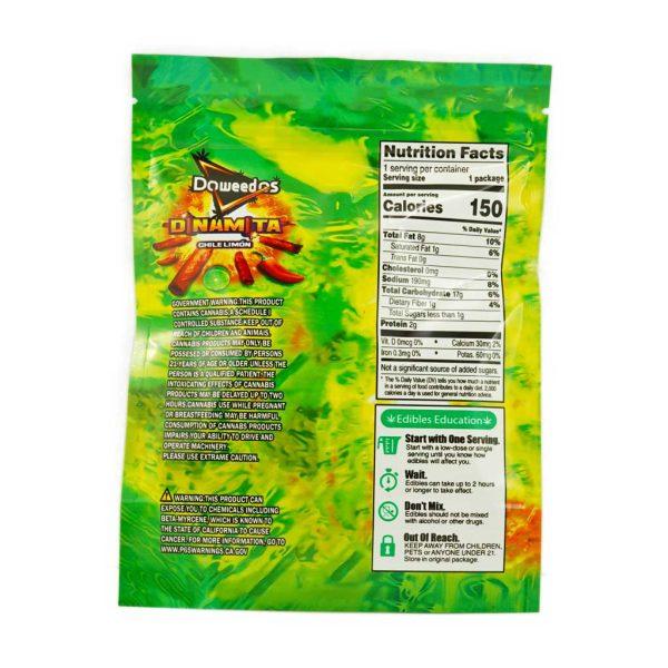 Buy Doweedos Dinamita Chile Limon 600mg THC at MMJExpress Online Shop