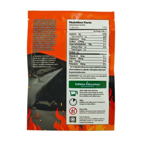 Buy Cheetos Puffs Flamin' Hot 600mg THC at MMJExpress Online Shop