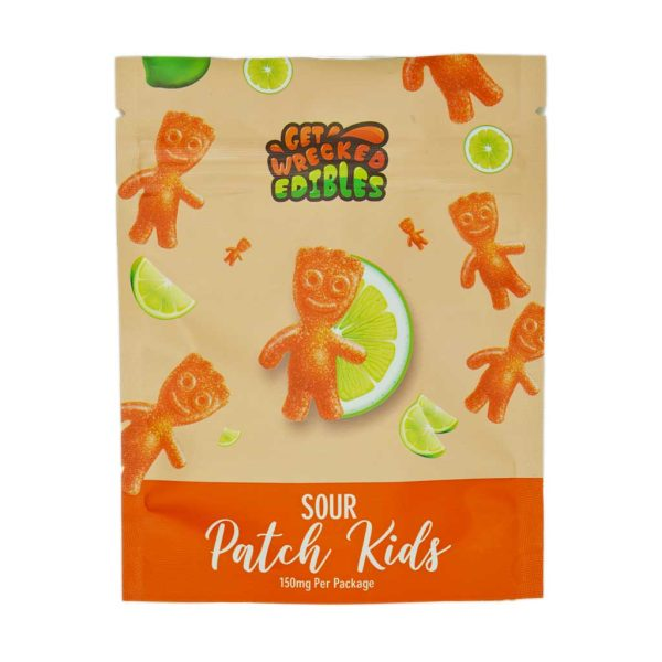 Buy Get Wrecked Edibles - Sour Patch Kids 150mg THC at MMJ Express Online Shop