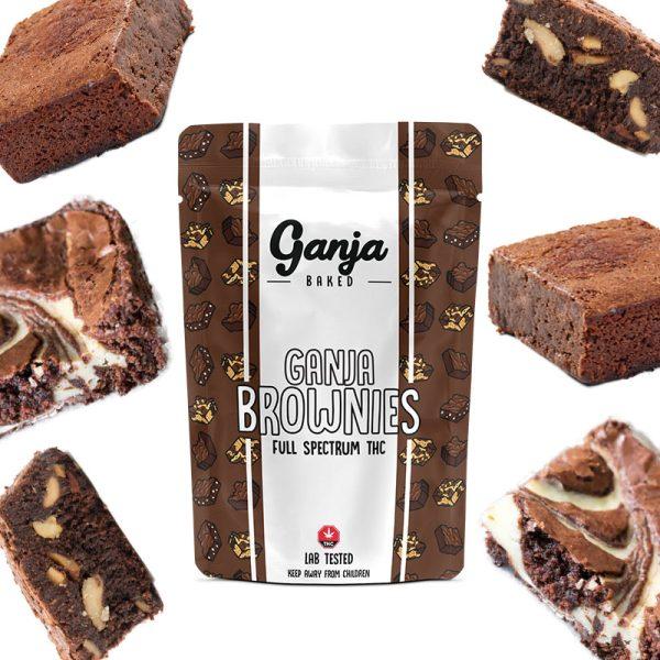 BuyGanja Edibles - Marble Brownie 1x 600mg at MMJ Express Online Shop
