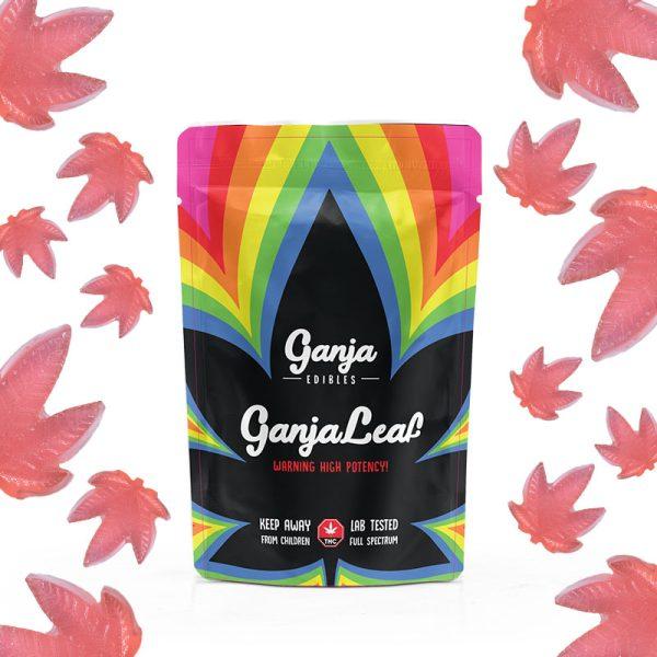 Buy Ganja Edibles - Ganja Leaf Watermelon 500mg THC at MMJ Express Online Shop