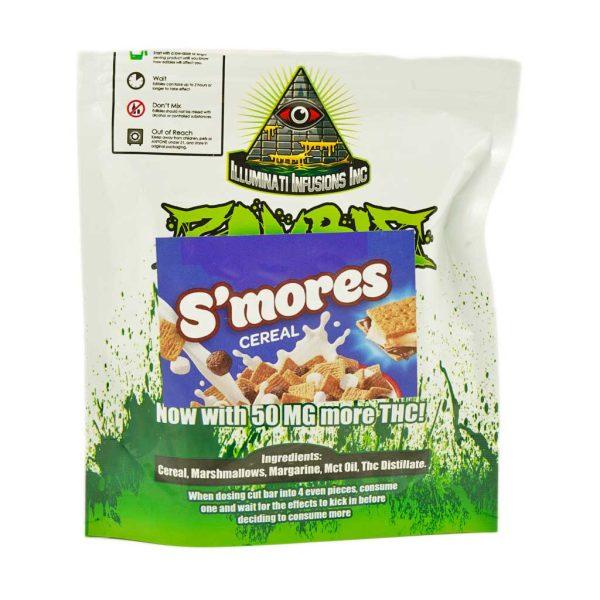 Buy Cannabis Edibles Zombie Bars S'mores at MMJ Express Online Shop