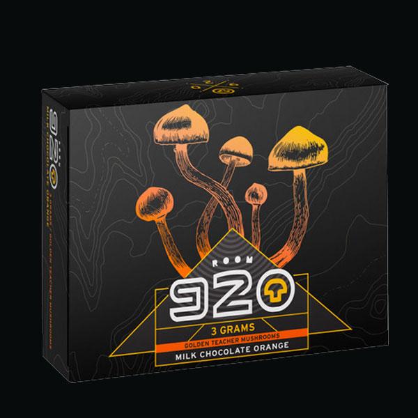 Buy Room 920 Mushroom Chocolate Bar - Orange Milk at MMJExpress Online Dispensary