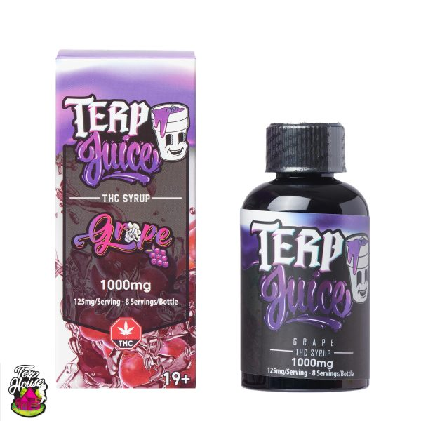 Buy Terp House - Terp Juice 1000mg THC Grape at MMJ Express Online Shop