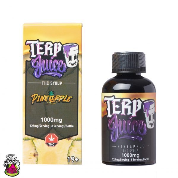 Buy Terp House - Terp Juice 1000mg THC Pineapple at MMJ Express Online Shop