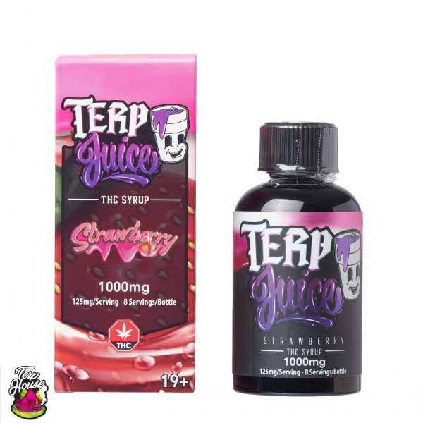 Buy Terp House - Terp Juice 1000mg THC Strawberry at MMJ Express Online Shop