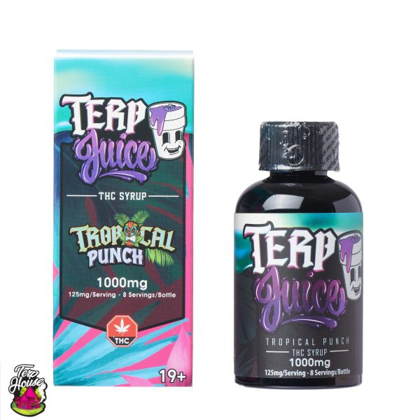 Buy Terp House - Terp Juice 1000mg THC Tropical Punch at MMJ Express Online Shop