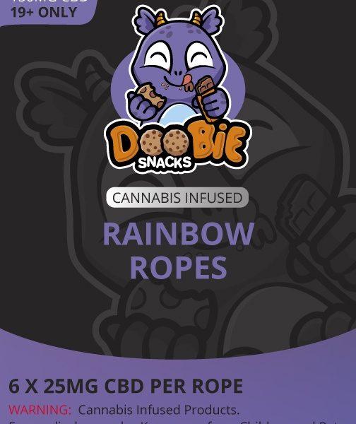 Buy Doobie Snacks - Rainbow Ropes 150mg CBD at MMJExpress Online Dispensary