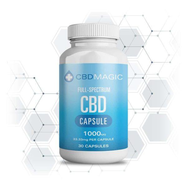 Buy CBD Magic - Full Spectrum CBD Hemp Gel Capsules 600MG/1000MG (30 caps) at MMJ Express Online Shop