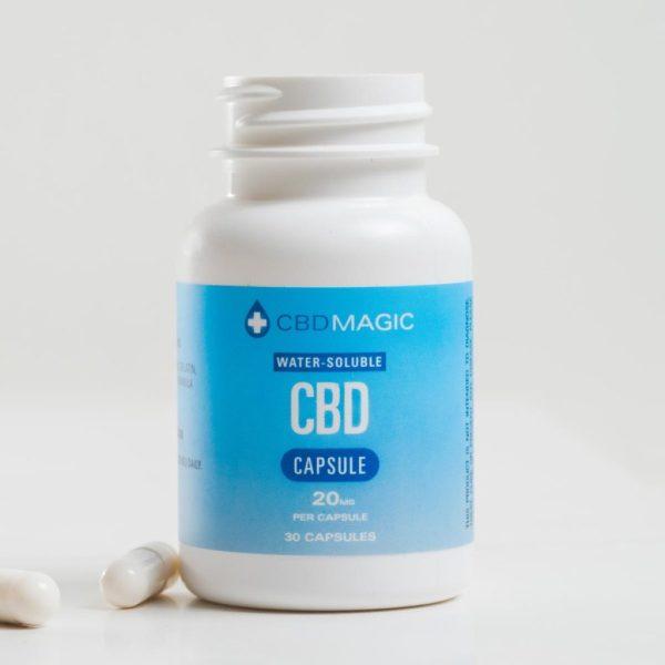 Buy CBD Magic - Water Soluble CBD Gel Capsules 600mg (30 caps) at MMJ Express Online Shop