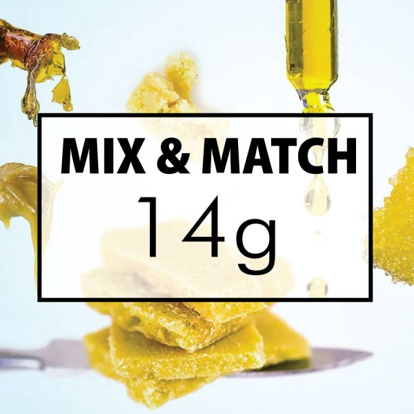 mix and match concentrates 14g