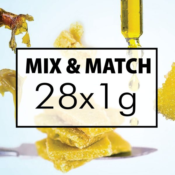 mix and match concentrates 28x1g