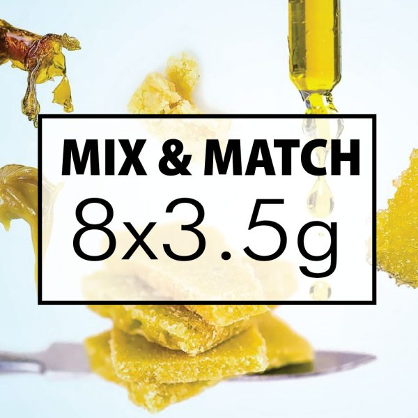 mix and match concentrates 8x35g