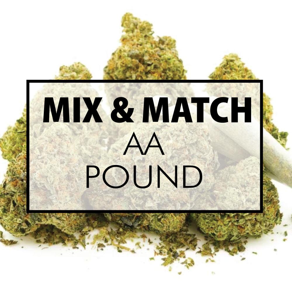 mix and match flower aa pound