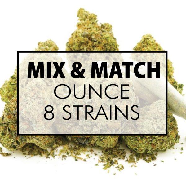 mix and match flower oz 8